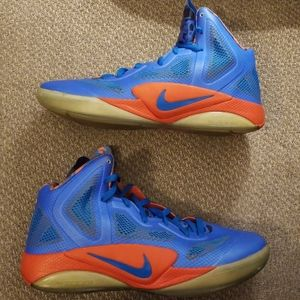 Nike Zoom Hyperfuse Mens 487424 400 size 10.5